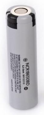 ถ่านชาร์จ Panasonic Li-on NCR 18650BD ของแท้ 1 ก้อน 3200 mAh ของแท้ Made in japan