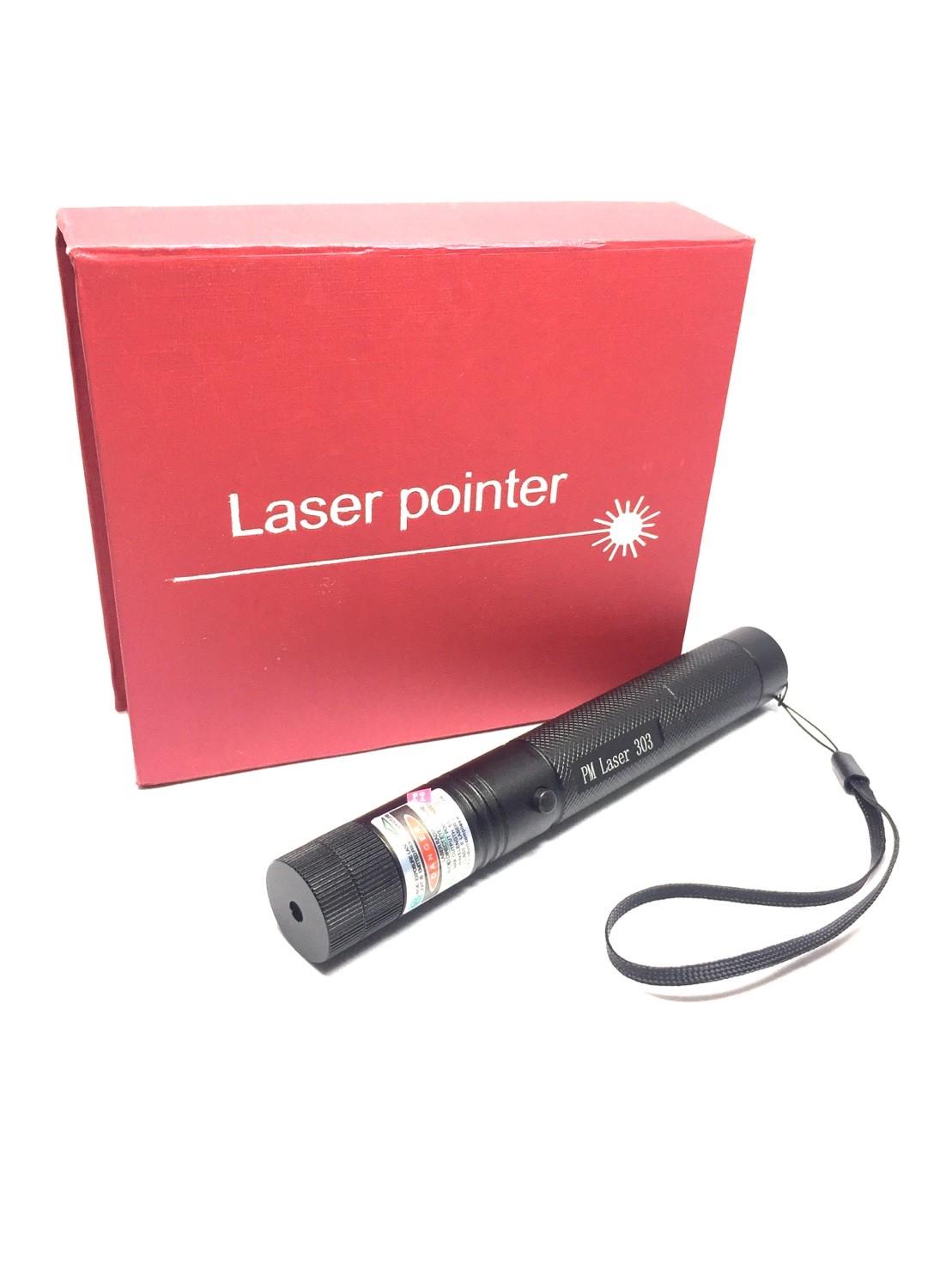 Laser pointer PM 303 แบ่ง 2 ท่อน ไฟสีเขียว