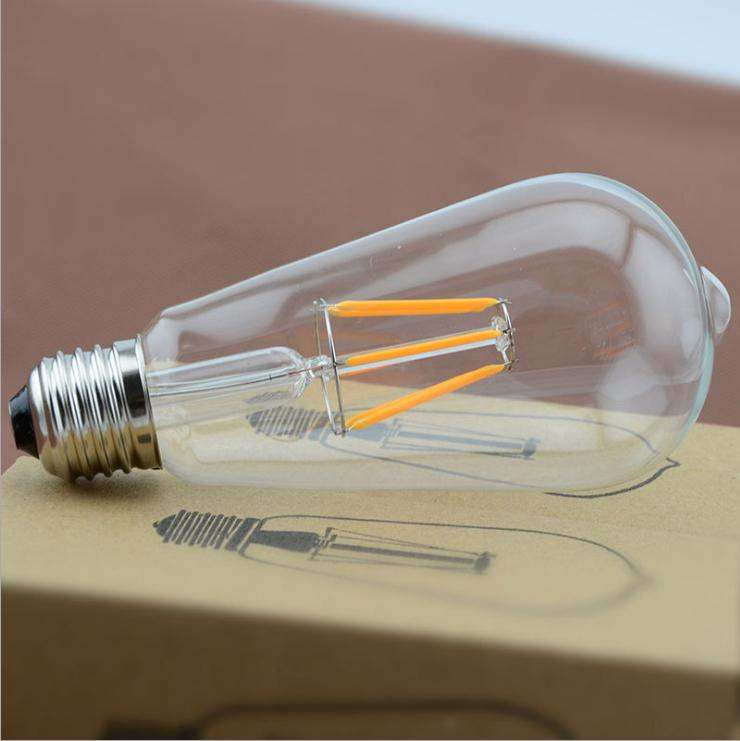 หลอดไฟวินเทจเอดิสัน LED 6 watt ST64