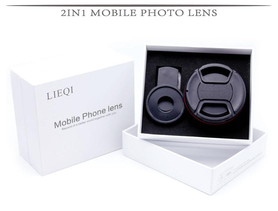 LIEQI LQ-025 Super Wide 0.6 & Macro 10x แท้ สีดำ