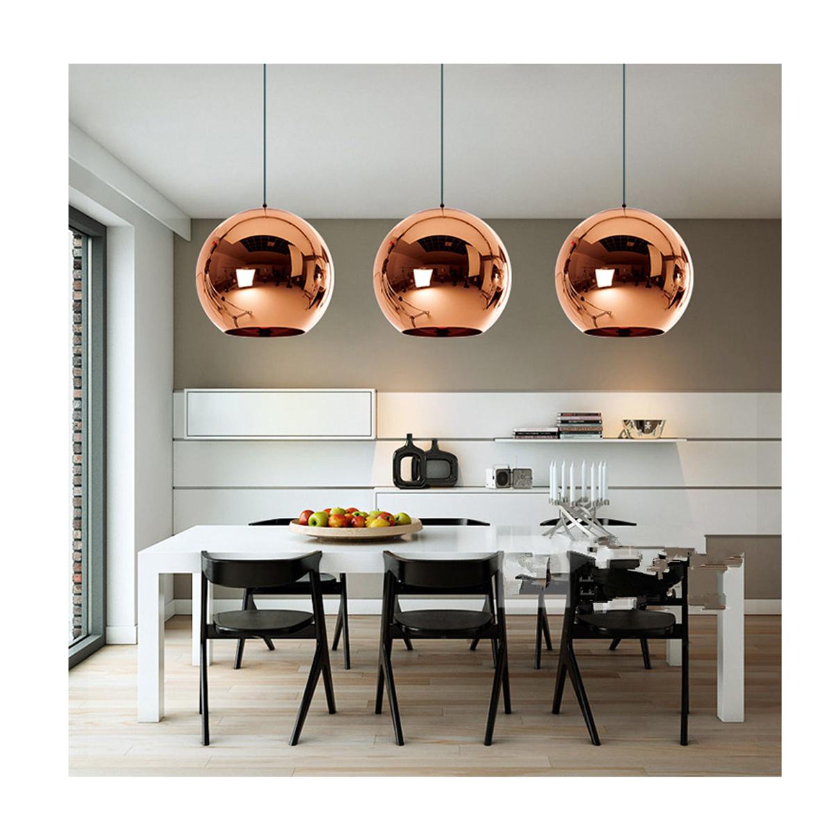 โคมไฟห้อยเพดานทรงกลม Modern Luxury