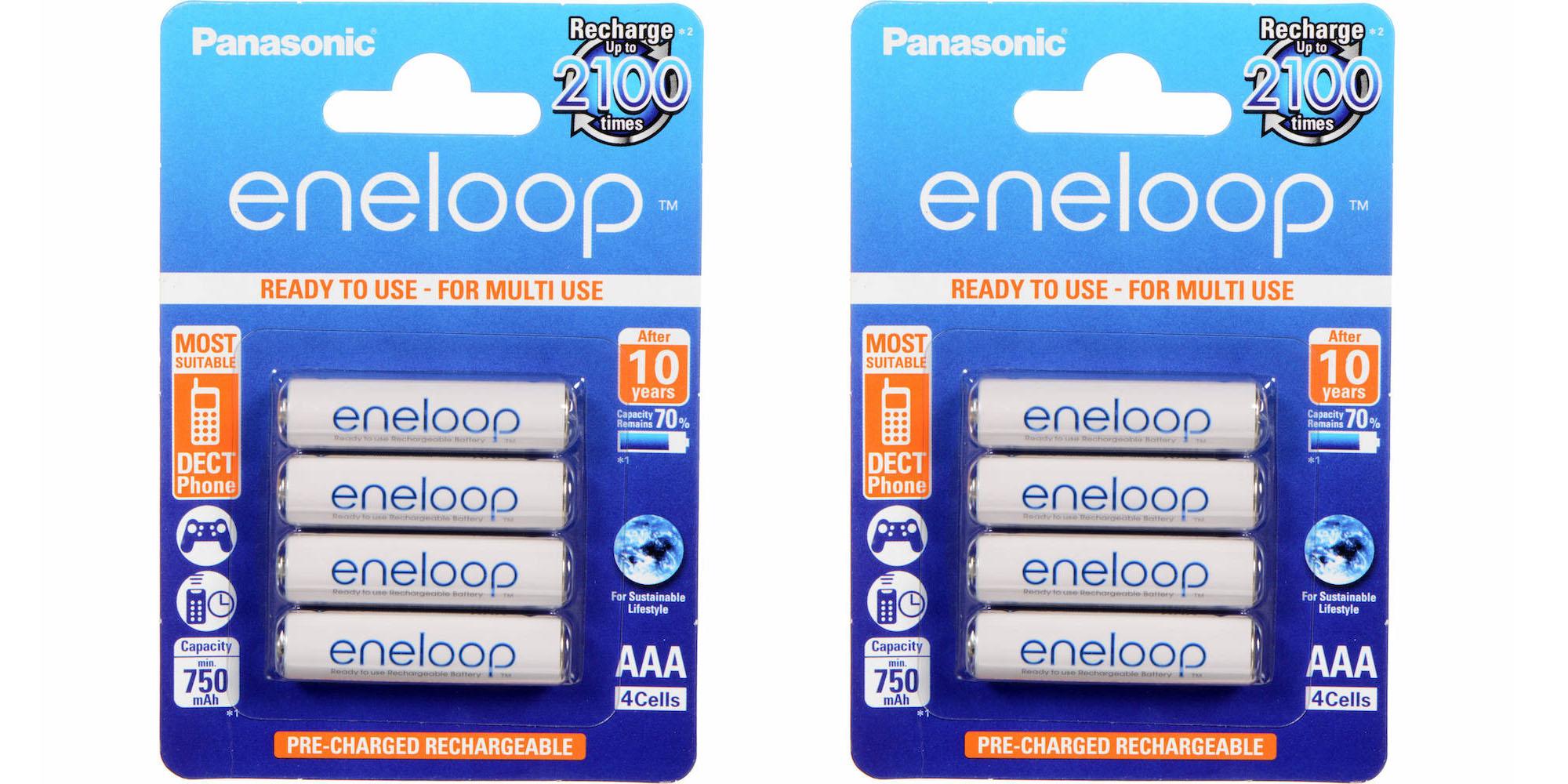ถ่านชาร์จ Panasonic Eneloop AAA (8 ก้อน) ของแท้ แพคกระดาษ