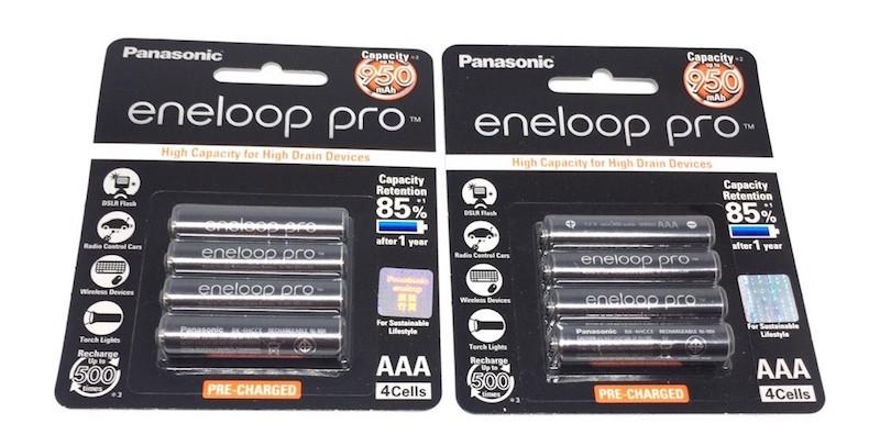 ถ่านชาร์จ Panasonic Eneloop Pro AAA 8 ก้อน 950 mAh ของแท้