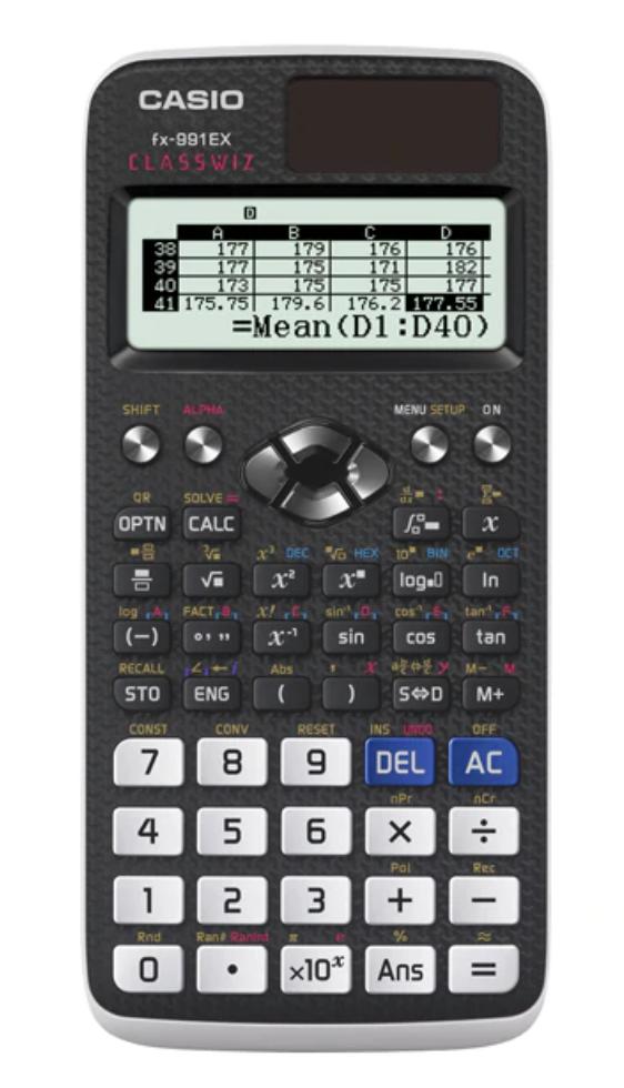 เครื่องคิดเลข Casio FX-991EX ของแท้