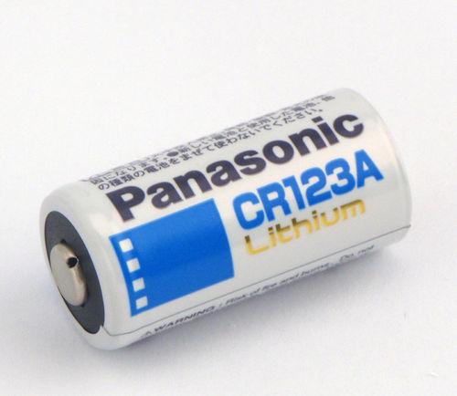 ถ่าน Panasonic Cr 123A Lithium 3V ของแท้ จำนวน 10 ก้อน