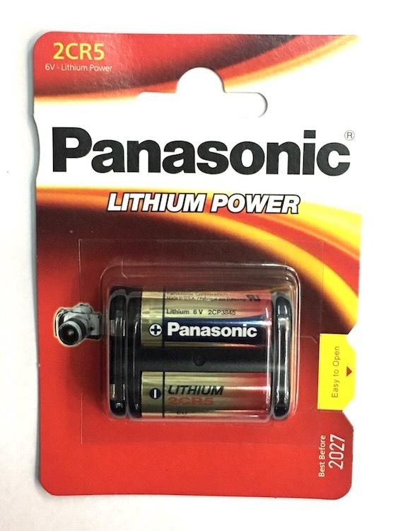 ถ่านกล้องถ่ายรูป Panasonic 2CR5 6V 1 ก้อน