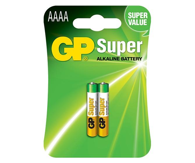 ถ่าน Gp AAAA Alkaline แพค 2 ก้อน
