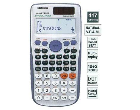 เครื่องคิดเลข Casio Fx991 ES Plus ของแท้ ประกัน 2 ปี