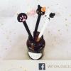 ปากกาเจลแมว อุ้งมือแมวน่ารัก หมึกสีดำ
