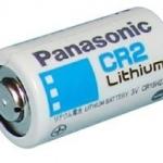 ถ่าน Panasonic CR2 จำนวน 10 ก้อน