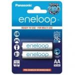 ถ่านชาร์จ Panasonic Eneloop AA 2 ก้อน min 1900 mAh ของแท้ ประกัน 6 เดือน