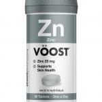Voost Zinc 25 มิลลิกรัม จำนวน 30 เม็ด