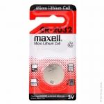 ถ่านกระดุม Maxell CR2032 แพค 2 ก้อน