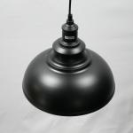 โคมไฟห้อยเพดาน โคมไฟระย้าสไตล์อเมริกันวินเทจ สีดำ
