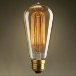 หลอดไฟวินเทจ Edison รุ่น ST64-40 watt