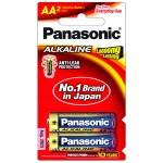 ถ่าน Panasonic Alkaline AA แพค 2 ก้อน จำนวน 12 แพค/กล่อง