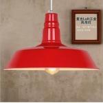โคมไฟห้อยเพดาน Warehouse Loft Red