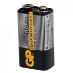 ถ่าน GP 9V สีดำ คุณภาพสูง จำนวน 10 ก้อน/กล่อง