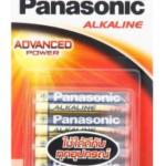 ถ่าน Panasonic Alkaline AAA แพค 4ก้อน จำนวน 12 แพค