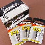ถ่าน Energizer 27A 12V จำนวน 12 แพค/กล่อง