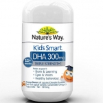 Nature's Way Kids Smart DHA 300 มิลลิกรัม Triple Strength 50 เม็ด