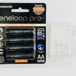 ถ่านชาร์จ Panasonic Eneloop Pro AA 2550mAh 4pcs แถมกล่อง