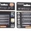 ถ่านชาร์จ Panasonic Eneloop Pro AA 4pcs+ AAA 4 ก้อน ของแท้